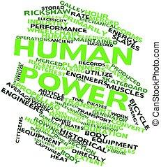 menschliche , macht