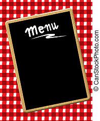 Menu-Blackboard