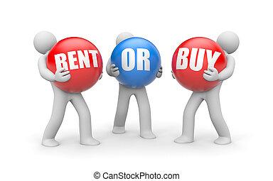 Miete oder Kauf