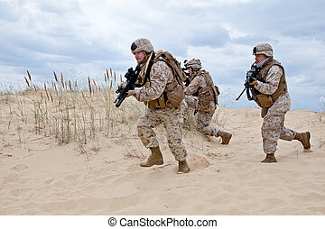 Militärische Operation.