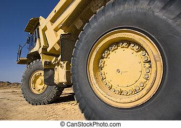 Mining Truck.