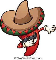 Mit mexikanischem Chili-Pfeffer