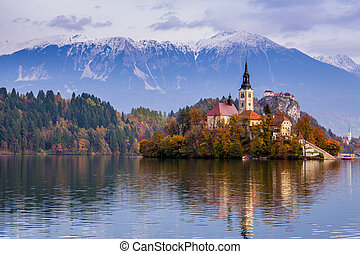 Mit See, Slowenien, Europa
