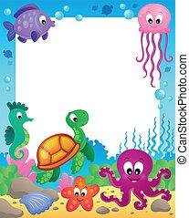 Mit Unterwassertieren 3.