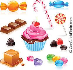 Mixed Candy Vektor