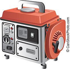 Mobiler Generator.