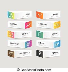 modern, infographic, design, abstrakt, plan, banner, website, sein, gebraucht, workflow, options., plan, banner, ikone, grafik, illustration., taste, farbe, vektor, buechse, sozial, oder