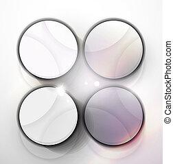 Moderne abstrakte geometrische Vektor-Design-Vorlage