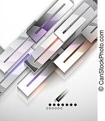 Moderne, abstrakte geometrische Vektoren-Schablone