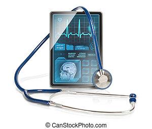 Moderne Gesundheitsversorgung.