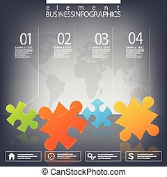 Moderne infographische Netzwerkvorlage mit Platz für Ihren Text. Kann für Workflow-Layout, Diagramm, Diagramm, Nummernoptionen, Webdesign verwendet werden