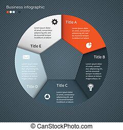 Moderne Vektorgrafik für Geschäftsprojekte