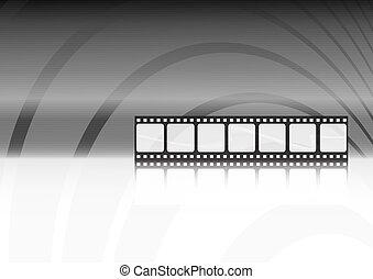 Moderner Filmvektor-Hintergrund