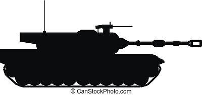 Moderner Panzer