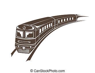 Moderner Zug