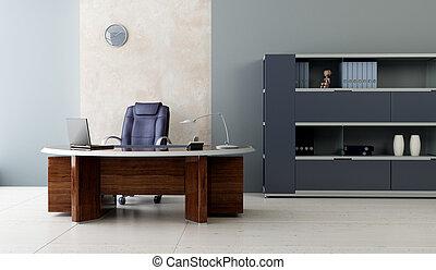 Modernes Büro-Insider