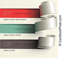 Modernes Design infographische Vorlage.