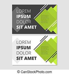Modernes Flugblattdesign.