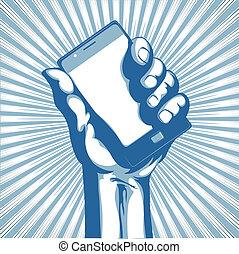 Modernes Handy.