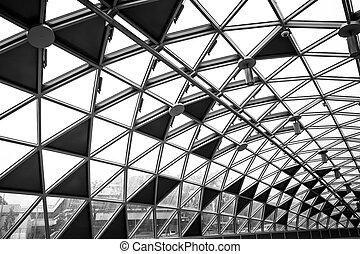 Modernes, konzeptionelles High-Tech-Gebäude