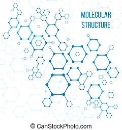 Molekularstruktur oder strukturelle Kodierung von Vektorelementen