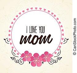 Mom Design, Vektorgrafik.