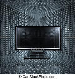 Monitore im Rasterraum
