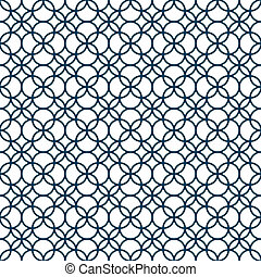 Monochrome nahtlose geometrische Muster