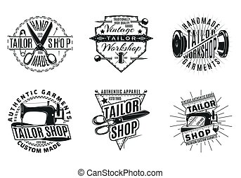 Monochrome Vintage Schneider Logos Set.
