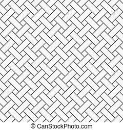 Monochrommuster mit grauem, simplem Gitter