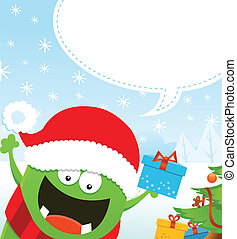 Monsters Weihnachtsbotschaft