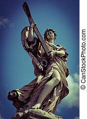 Monument on ponte sant'angelo.