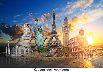 Monumente der Welt.