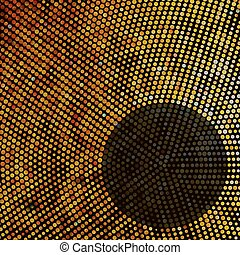 Mosaik abbrechen. EPS 8