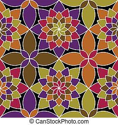 Mosaik-Vektor nahtlos.