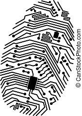 Motherboard Fingerabdruck