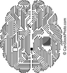 Motherboard-Gehirn