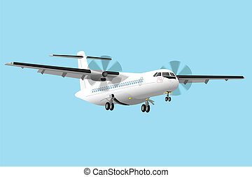 motorflugzeug, regional