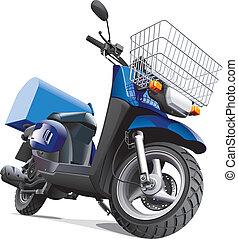 Motorrad für Lieferungen