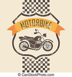 Motorrad-Icon