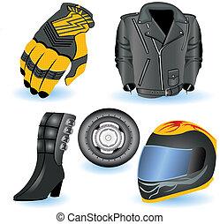 Motorrad-Icons 1