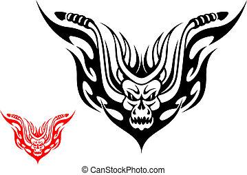 Motorrad-Tattoo