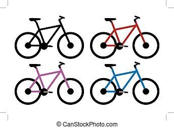 Mountain Bike Set.