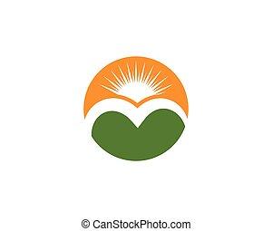 Mountain Icon Logo-Geschäft.