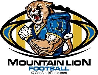 Mountain Lion Football.