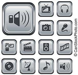 Multimedia-Tasten.