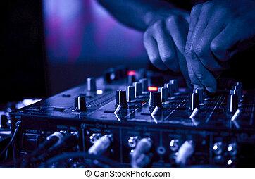 musik, nachtclub, dj