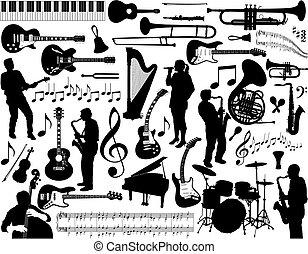 Musikelemente.