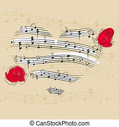 Musikherz.