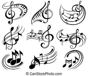 Musiknotizen.